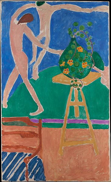 Henri Matisse  Nasturtiums with the Painting Dance I