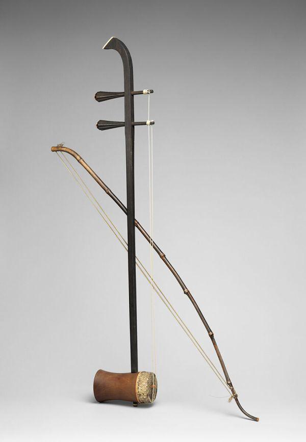 Huqin Chinese Qing Dynasty 1644-1911 Met