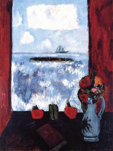 marsden hartley summer sea window