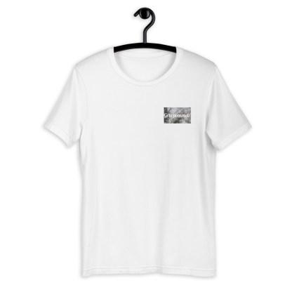 Gris pommelé robe t-shirt cheval