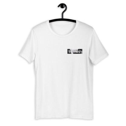pie noir t-shirt cheval