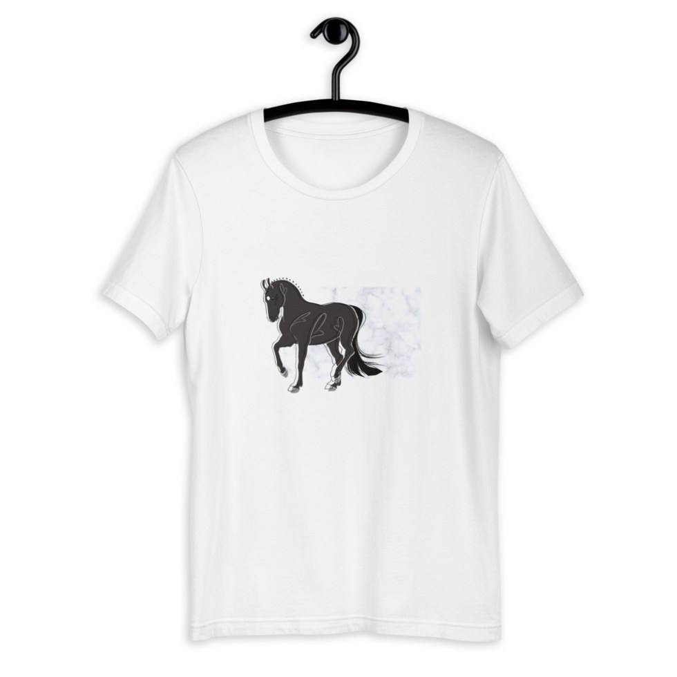 poney t-shirt cso cheval équitation