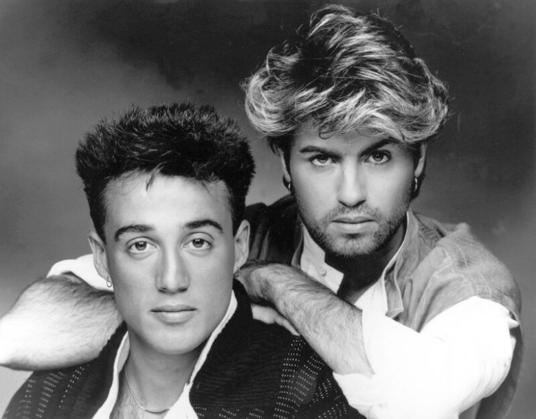 NPG x25284; Wham! (George Michael; Andrew Ridgeley) - Portrait - National  Portrait Gallery