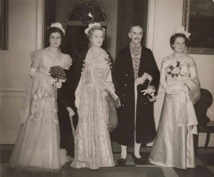 NPG x76577; Valerie (née Cole), Lady Strathcarron; Anne Vere Chamberlain  (née Cole); Neville Chamberlain; Diana Chamberlain - Portrait - National  Portrait Gallery