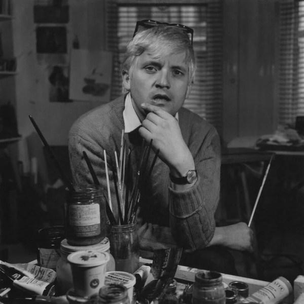 Npg X195544; David Hockney - Portrait National