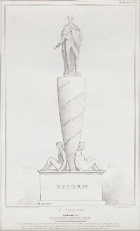 NPG D41193; A Design for a Monument (Arthur Wellesley, 1st
