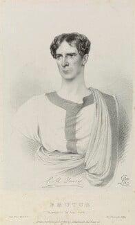 Npg D Charles Mayne Young As Brutus In Julius