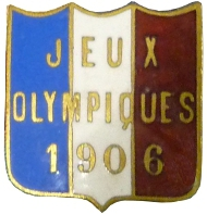 1906 Athènes badge pin's France