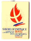 Albertville 1992 pin's olympique candidature
