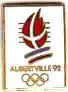 Albertville 1992 logo pin's olympique