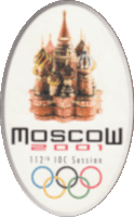 2001 Moscow logo session