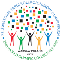 2019 Warsaw olympic fair logo