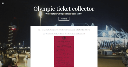 Alex website link olympic collection