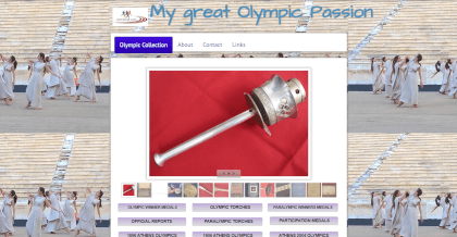 Stratos website link olympic collection