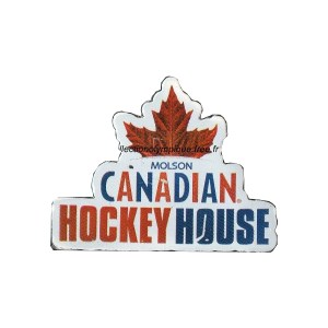 2010 Vancouver NOC pin, Canadian hockey house