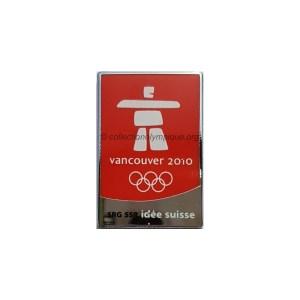 2010 Vancouver media pin, SRG SSR Switzerland