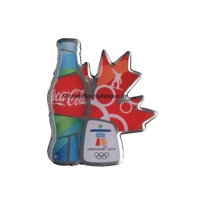 2010 Vancouver sponsor pin, Coca-Cola