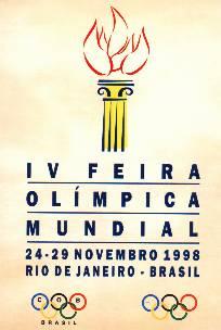 Rio de Janeiro 1998 olympic fair logo