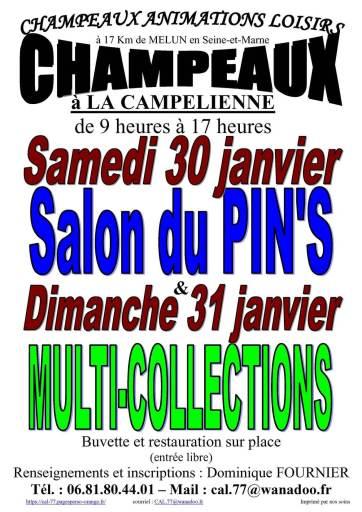 2021 Champeaux fair pins poster