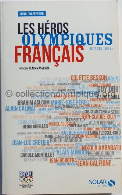librairie Les héros olympiques français