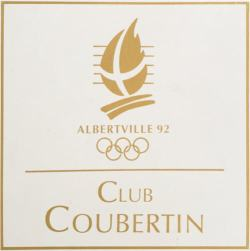 logotype Club Coubertin