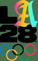 Logo Jeux Olympiques Los Angeles 2028