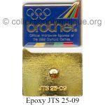26 01 Club Top pin's Brother époxy signé JTS 25-09