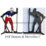 155_01 disciplines olympiques divers ski de fond édité par Démons & Merveilles