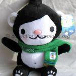 Miga l'ourse des mers, peluche hauteur 31 cm mascotte olympique