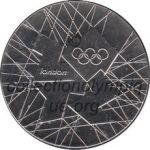 2012 Londres médaille de participant recto, cupro-nickel - 39 mm - 35 000 ex - athlètes et officiels. - designer Gordon Summers