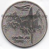 2014 Sotchi monnaie 25 roubles, recto
