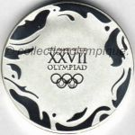 2000 Sydney olympic participant medal recto, athlets and officials - 50 mm