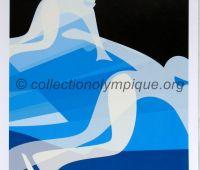 2006 Torino Olympic Poster short track 42 x 29,5 cm