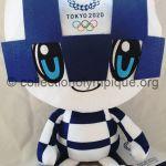2020 Tokyo mascotte olympique Miraitowa, peluche 40 cm