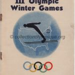 1932 Lake Placid programme olympique cérémonie ouverture