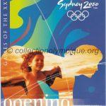 2000 Sydney olympic ticket opening ceremony recto