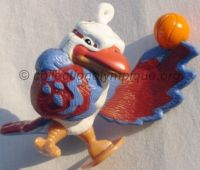 2000 Sydney Olympic mascot, Olly the Kookaburra, basketball