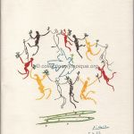 1984 Los Angeles olympic opening ceremony program