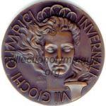 1956 Cortina d'Ampezzo olympic participant medal recto