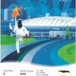 2010 Vancouver billet olympique cérémonie ouverture recto