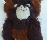 1980 Moscow Olympic mascot Misha the bear, 40 cm