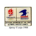 51 07 Club Top US Postal Service logo aigle époxy