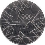 2012 london olympic participant medal recto, athlets and officials - 40 mm