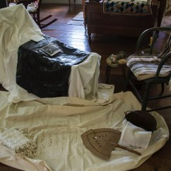Old Fashioned Birthing Chairs Small Desk With Arms Couch Wylie House Exhibits Birth Setup Jpeg