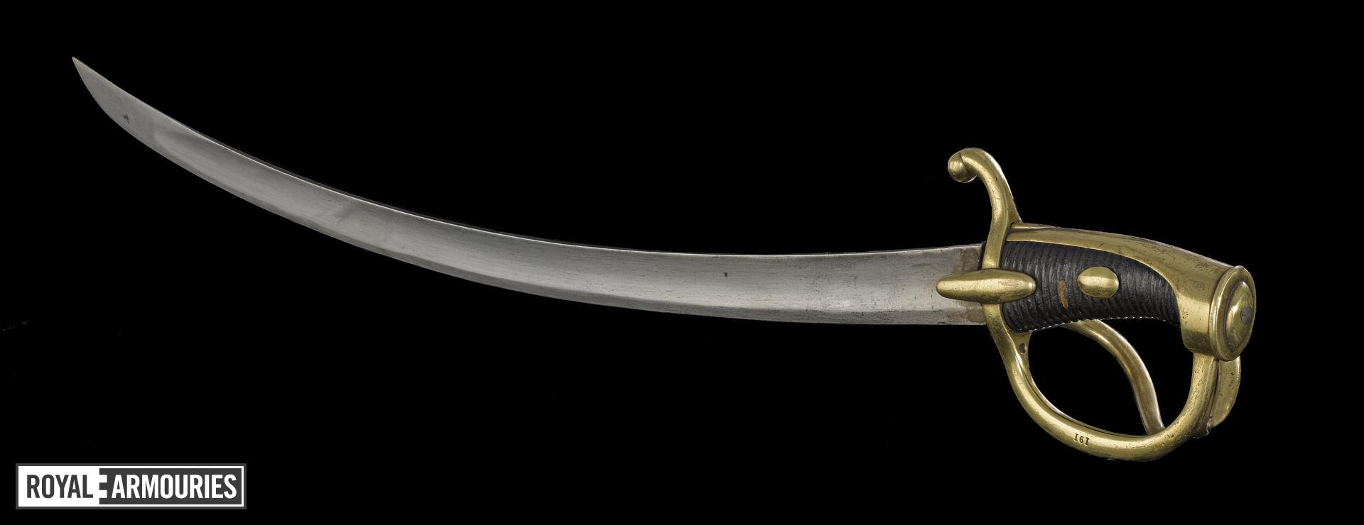 Year IXXI Light Cavalry Sabre The Battle Of Waterloo Royal Armouries Collections