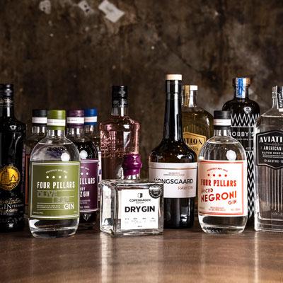 Vi har en stolt række af ekslusive gin brands