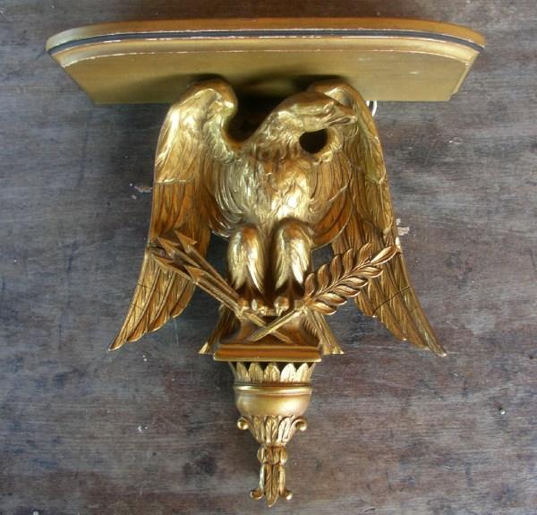 Vintage Plaster Eagle