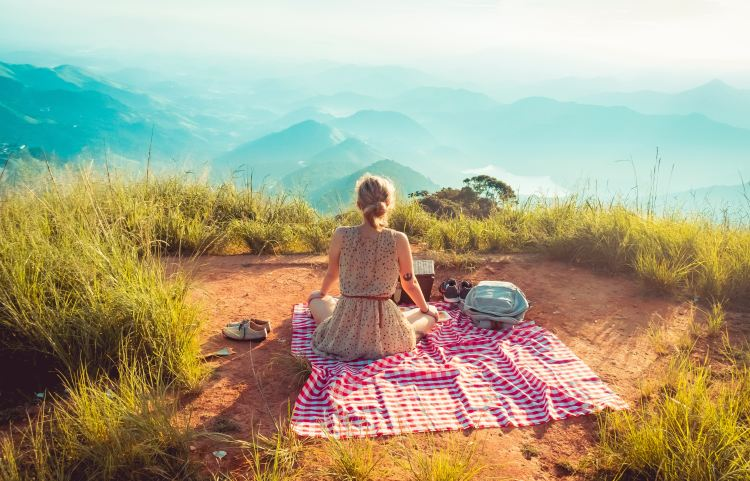 get outdoors for summer self-care