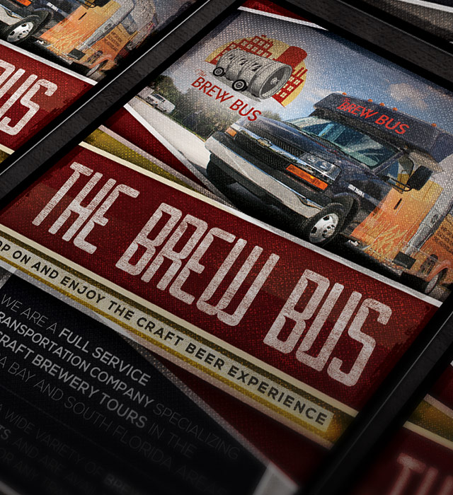 Brew Bus USA Flyer