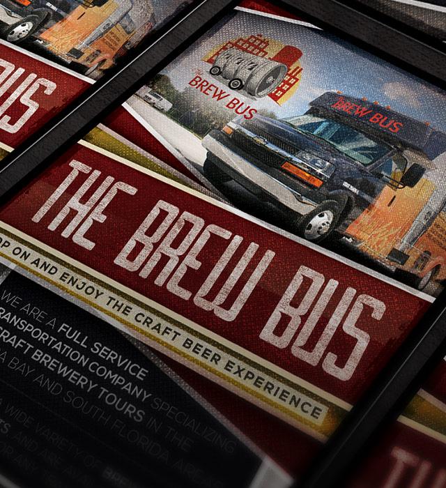 Brew Bus USA Flyer